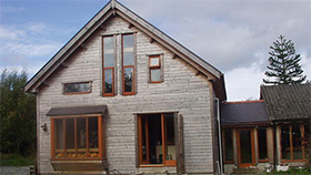 Wiseman Designs - Timber Frame Extension