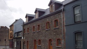 Wiseman Designs - Stone Clad Townhouses