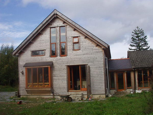 Wiseman Designs - Timber extension Passive Solar